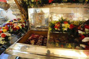 мощи святой Матроны Московской в Москве
