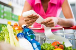 закупать продукты