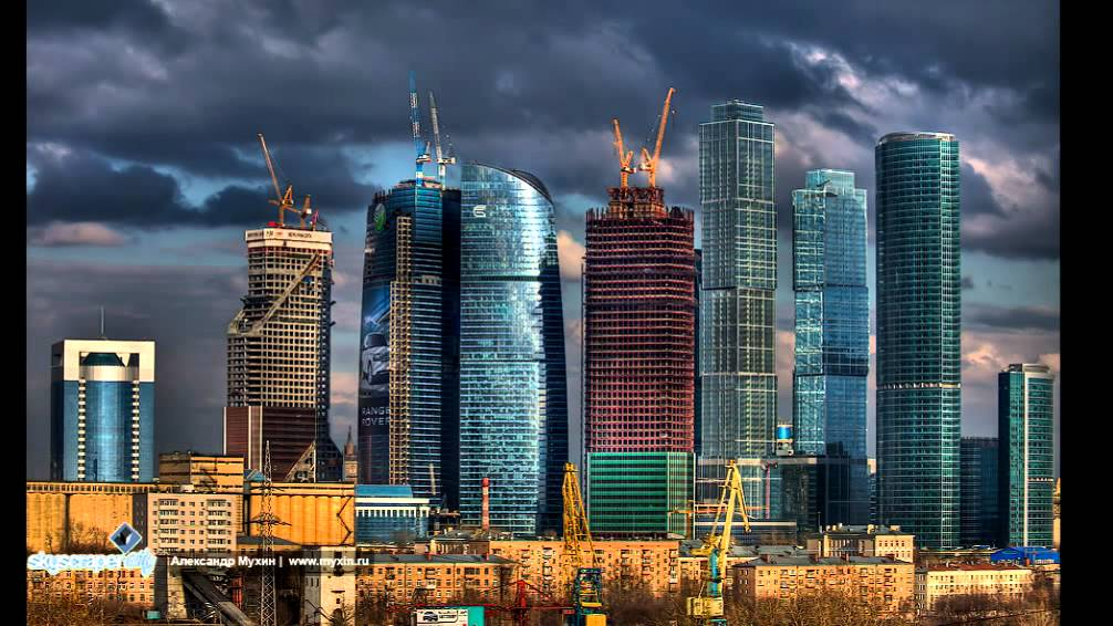 строительство москва сити