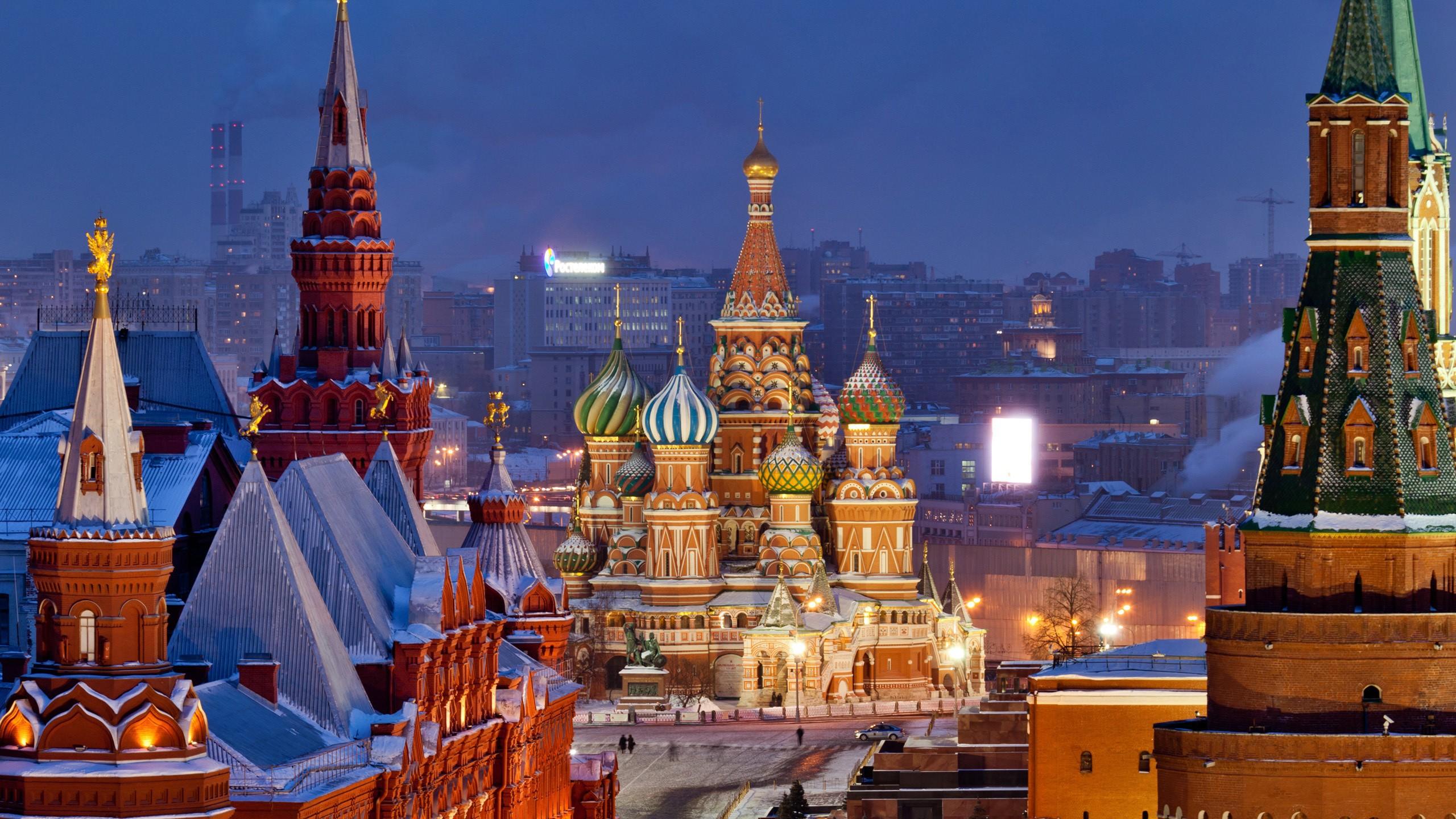 Обои московский кремль, russia, россия, moscow. Города foto 19