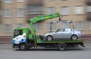 эвакуации машины
