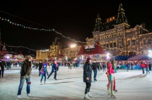Москве зимой