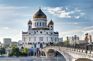 храма Христа Спасителя в Москве