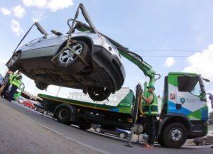 эвакуацию автомобиля