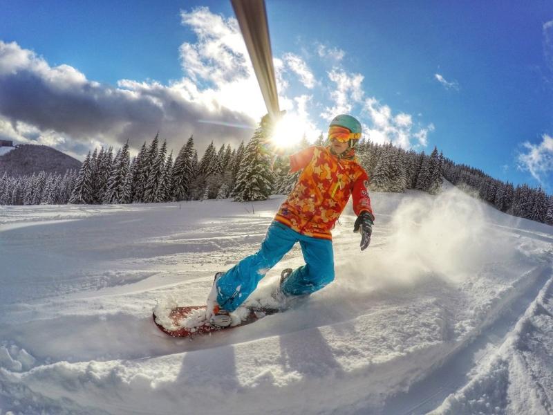 катание на сноуборде купить